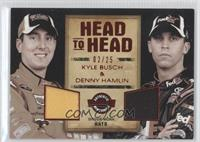 Kyle Busch, Denny Hamlin /25