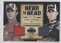 Kasey Kahne, Carl Edwards /75