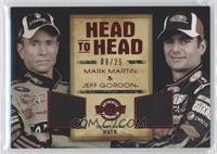 Mark Martin, Jeff Gordon /25