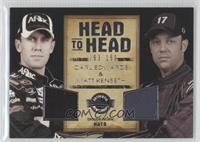Carl Edwards, Matt Kenseth /150