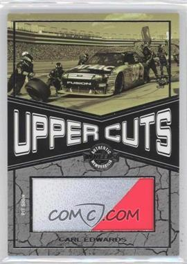 2010 Wheels Main Event Upper Cuts #UC-CE - Carl Edwards /150