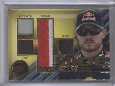 2011 Press Pass 4 Wide Memorabilia #FW-BV - Brian Vickers /25