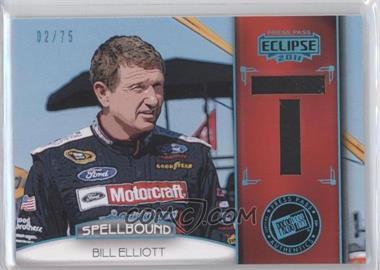 2011 Press Pass Eclipse Spellbound Swatches #SB-BE 6 - Bill Elliott /75
