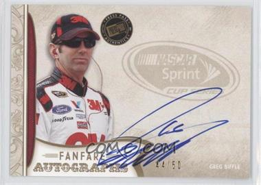 2011 Press Pass Fanfare - Fanfare Autographs - Gold #FA-GB - Greg Biffle /50