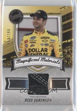 2011 Press Pass Fanfare - Magnificent Materials #MM-RS2 - Reed Sorenson /199