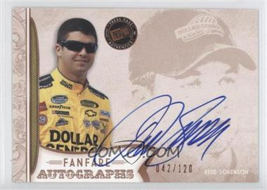 2011 Press Pass Fanfare Fanfare Autographs Bronze #FA-RS2 - Reed Sorenson /120