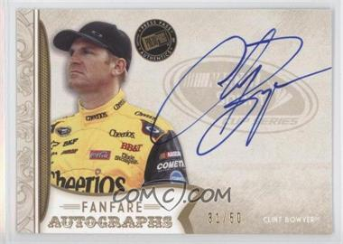 2011 Press Pass Fanfare Fanfare Autographs Gold #FA-CB - Clint Bowyer /50