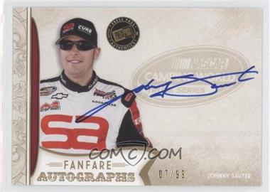 2011 Press Pass Fanfare Fanfare Autographs Gold #FA-JS - Johnny Sauter /99
