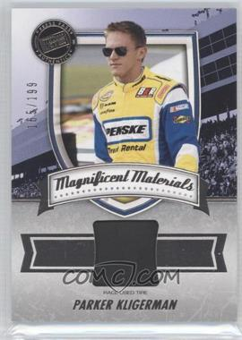 2011 Press Pass Fanfare Magnificent Materials #MM-PK - Parker Kligerman /199
