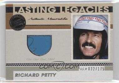 2011 Press Pass Legends Lasting Legacies Memorabilia #LL-RP - Richard Petty /175