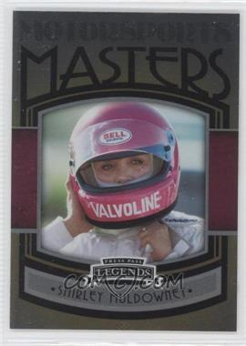 2011 Press Pass Legends Motorsports Masters #MM 11 - Shirley Muldowney