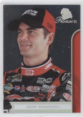 2011 Press Pass Premium - [Base] #13.2 - Jeff Gordon