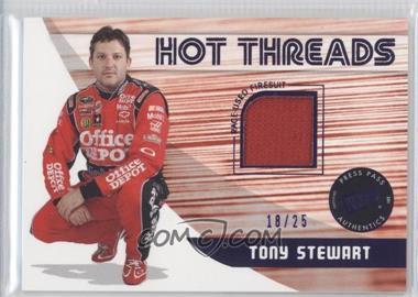 2011 Press Pass Premium Hot Threads Multi-color #HT-TS - Tony Stewart /25