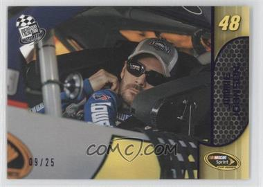 2011 Press Pass Purple Fast Pass #16 - Jimmie Johnson /25