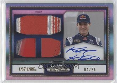 2011 Press Pass Showcase - Masterpieces Ink Memorabilia - Gold [Autographed] #MPI-KK - Kasey Kahne /25