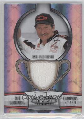 2011 Press Pass Showcase Champions Memorabilia Silver #CHM-DE - Dale Earnhardt /99
