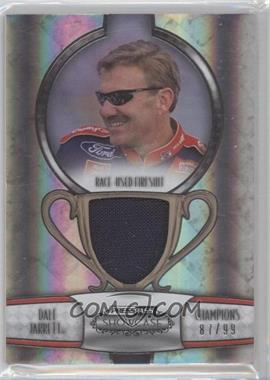2011 Press Pass Showcase Champions Memorabilia Silver #CHM-DJ - Dale Jarrett /99