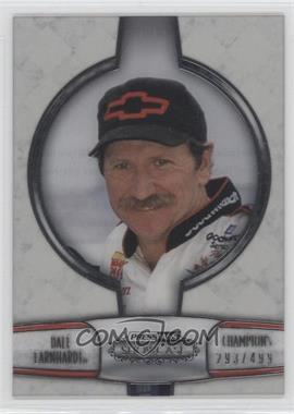 2011 Press Pass Showcase Champions Silver #CH 11 - Dale Earnhardt /499