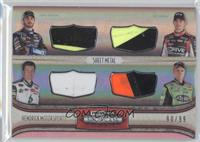 Jimmie Johnson, Jeff Gordon, Dale Earnhardt Jr., Mark Martin /99