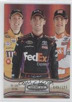 Kyle Busch, Denny Hamlin, Joey Logano /125