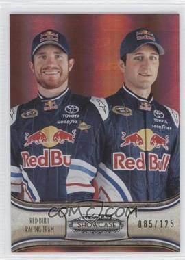 2011 Press Pass Showcase Gold #58 - Brian Vickers, Kasey Kahne /125