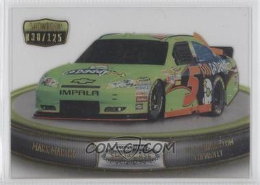 2011 Press Pass Showcase Showroom Gold #SR 3 - Mark Martin /125