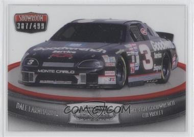 2011 Press Pass Showcase Showroom Silver #SR 10 - No. 3 GM Goodwrench Chevrolet (Dale Earnhardt) /499