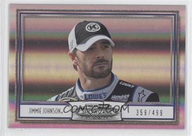 2011 Press Pass Showcase Silver #43 - Jimmie Johnson /499