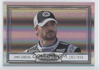 2011 Press Pass Showcase Silver #43 - Jimmie Johnson /499