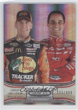 2011 Press Pass Showcase Silver #56 - Jamie McMurray, Juan Pablo Montoya /499