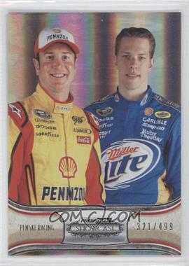 2011 Press Pass Showcase Silver #60 - Kurt Busch, Brad Keselowski /499