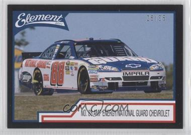 2011 Wheels Element - [Base] - Black #36 - Dale Earnhardt Jr. /35
