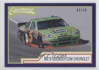 No. 5 GoDaddy.com Chevrolet /25