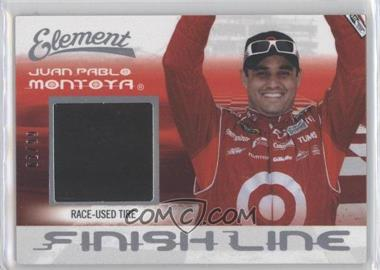 2011 Wheels Element Finish Line Tire #FL-JPM - Juan Pablo Montoya /99