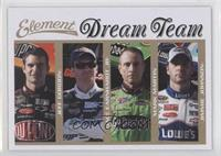 Jeff Gordon, Dale Earnhardt Jr., Mark Martin, Jimmie Johnson