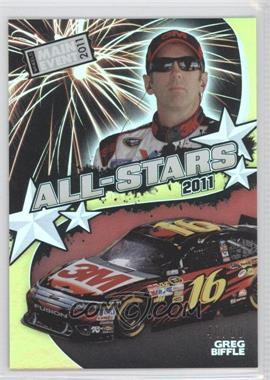 2011 Wheels Main Event [???] #A5 - Greg Biffle /50