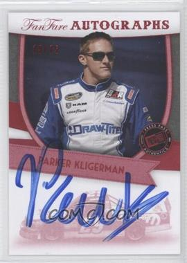 2012 Press Pass Fanfare Autographs Red #FF-PK - Parker Kligerman /75
