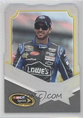 2012 Press Pass Fanfare Die-Cut Holo #20 - Jimmie Johnson