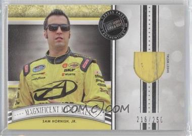 2012 Press Pass Fanfare Magnificent Materials #MM-SH - Sam Hornish Jr. /250