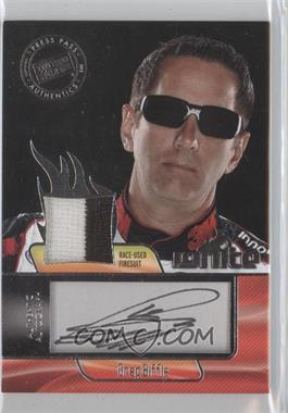 2012 Press Pass Ignite Materials Autographs Silver #II-GB - Greg Biffle