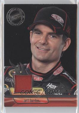2012 Press Pass Ignite Materials Silver #IM-JG2 - Jeff Gordon