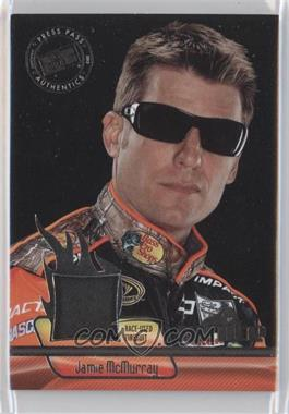 2012 Press Pass Ignite Materials Silver #IM-JM - Jamie McMurray