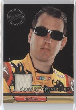 2012 Press Pass Ignite Materials Silver #IM-KYB - Kyle Busch