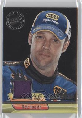 2012 Press Pass Ignite Materials Silver #IM-MK - Matt Kenseth