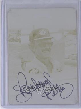 2012 Press Pass Legends - Trailblazers - Printing Plate Yellow Autographs [Autographed] #TB-N/A - Richard Petty /1