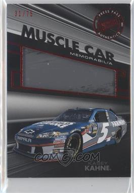2012 Press Pass Redline Muscle Car Memorabilia Red #MC-KK - Kasey Kahne /75