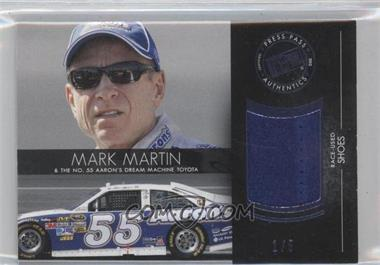 2012 Press Pass Redline Relics Blue #RL-MM - Mark Martin /5