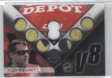 2012 Press Pass Redline V8 Relics Blue #V8-8 - Tony Stewart