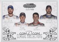 Dale Earnhardt Jr., Kasey Kahne, Jeff Gordon, Jimmie Johnson /499