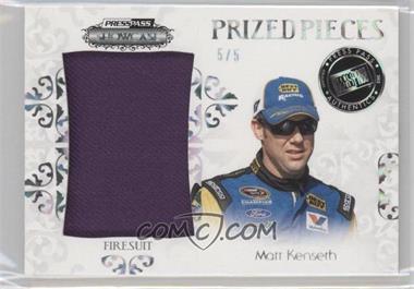 2012 Press Pass Showcase - Prized Pieces Memorabilia - Melting Foil [Memorabilia] #PP-MK - Matt Kenseth /5